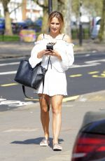 TIFFANY WATSON Out and About in London 04/20/2018
