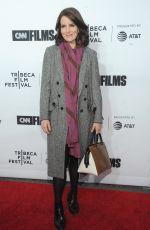 TINA FEY at Love, Gilda Premiere at Tribeca Film Festival in New York 04/18/2018