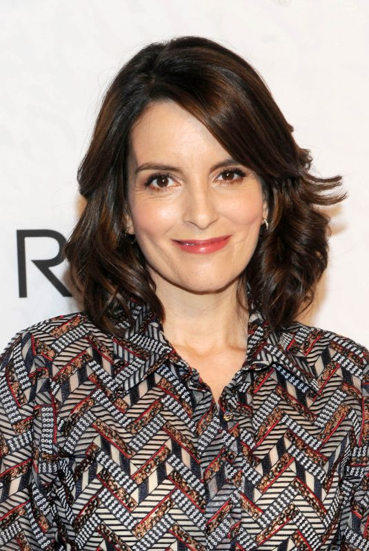 TINA FEY at Variety Power of Women in New York 04/13/2018