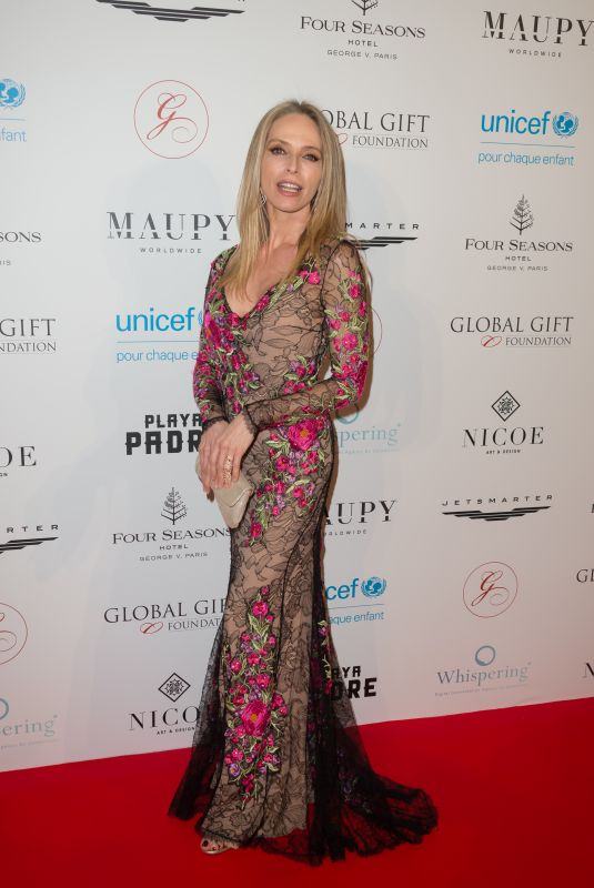 TONIA KINZINGER at Global Gift Gala 2018 in Paris 04/25/2018