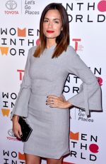 TORREY DEVITTO at 9th Annual Women in the World Summit in New York 04/12/2018