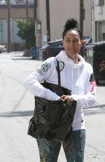 TRACEE ELLIS ROSS Leaves a Gym in Los Angeles 04/25/2018