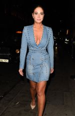 TULISA CONTOSTAVLOS Night Out in Mayfair 04/06/2018