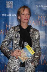 UMA THURMAN at My Fair Lady Opening Night in New York 04/19/2018