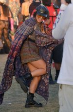 VANESSA HUDGENS at 2018 Coachella Valley Music and Arts Festival 04/22/2018