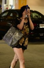 VANESSA HUDGENS at Soulcycle in Los Angeles 04/11/2018