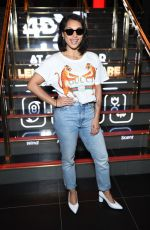 VANESSA WHITE at Cineworld Leicester Square Relaunch Party in London 04/19/2018
