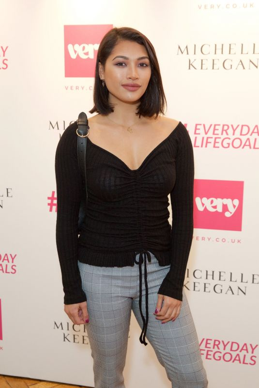 VANESSA WHITE at Michelle Leegan Launches Her very.co.uk Summer Collection in London 04/24/2018