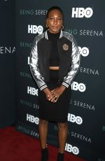 VENUS WILLIAMS at Being Serena. Her Story. Her Words Premiere in New York 04/25/2018