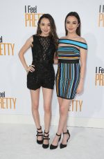 VERONICA and VANESSA MERRELL at I Feel Pretty Premiere in Los Angeles 04/17/2018