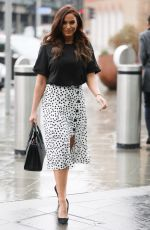 VICKY PATTISON Arrives at Kings Cross Station in London 03/28/2018