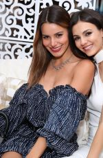 VICTORIA JUSTICE and MADISON REED at 4th Annual Zoeasis at Coachella in Palm Springs 04/13/2018