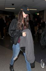 VICTORIA JUSTICE at Los Angeles International Airport 04/19/2018