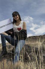 VICTORIA JUSTICE at Petroglyph National Monument in Albuquerque 04/19/2018
