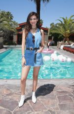 VICTORIA JUSTICE at Polside with H&M at Sparrows Lodge in Palm Springs 04/14/2018
