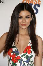 VICTORIA JUSTICE at Race to Erase MS Gala 2018 in Los Angeles 04/20/2018