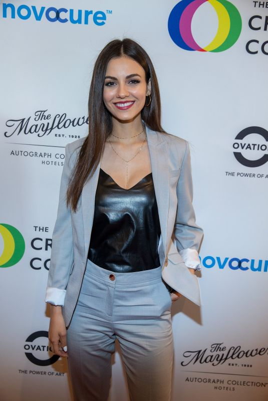 VICTORIA JUSTICE at Right to Bear Arts Gala Fundraiser in Washington 04/27/2018