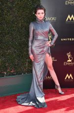 VICTORIA KONEFAL at Daytime Creative Arts Emmy Awards in Los Angeles 04/27/2018