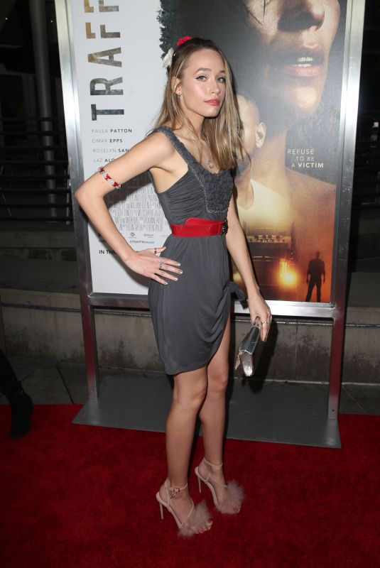 VIENNA KENDALL at Traffik Premiere in Los Angeles 04/19/2018