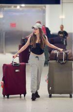 XENIA TCHOUMITCHEVA at Airport in Miami 04/24/2018