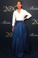 YARA SHAHIDI at Brooks Brothers Bicentennial Celebration in New York 04/25/2018