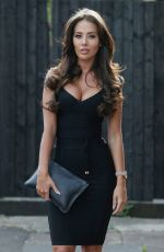 YAZMIN OUKHELOU on the Set of TOWIE in Essex 04/25/2018