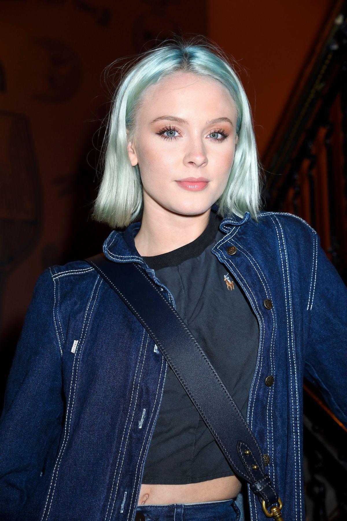 ZARA LARSSON at Molly Sandens Storre Album Launch in ...