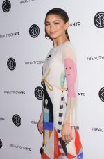 ZENDAYA COLEMAN at Beauty Con in New York 04/22/2018