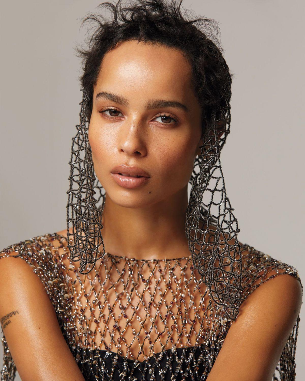 Zoe Kravitz Fashion: ZOE KRAVITZ In Instyle Magazine, May 2018