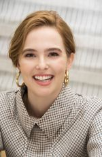 ZOEY DEUTCH at Flower Press Conference in New York 03/21/2018