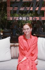 ZOEY DEUTCH at Polside with H&M at Sparrows Lodge in Palm Springs 04/14/2018