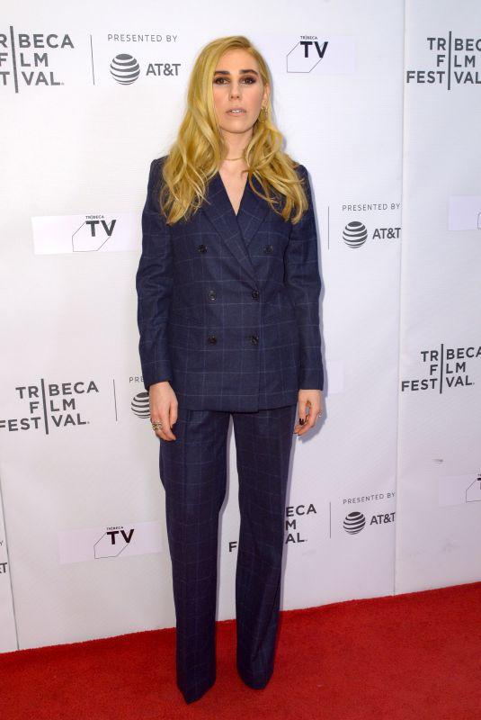 ZOSIA MAMET at Maine Screening at 2018 Tribeca Film Festival 04/223/2018