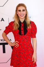 ZOSIA MAMET at Sweetbitter Premiere at Tribeca Film Festival 04/26/2018