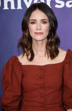 ABIGAIL SPENCER at NBC/Universal Summer Press Day in Universal City 02/05/2018
