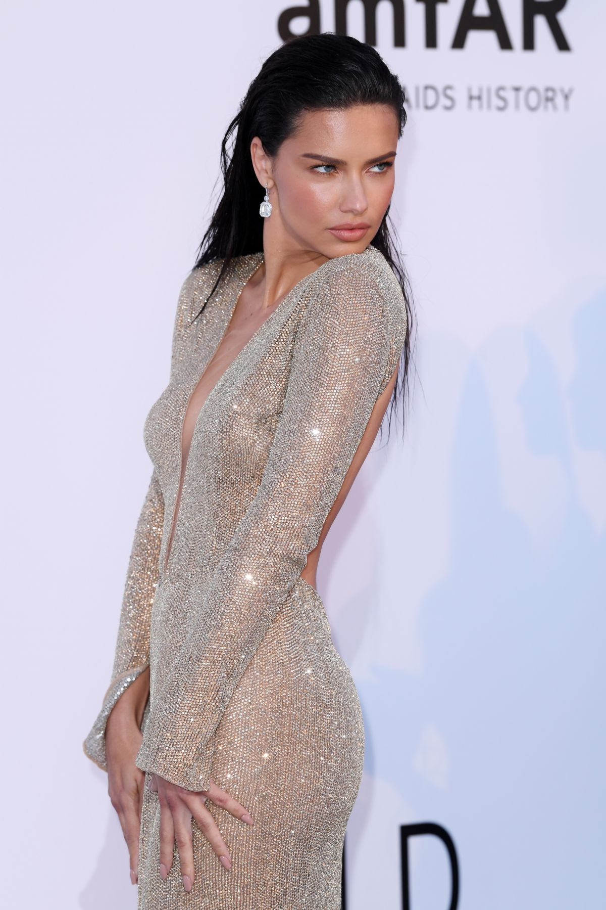 Adriana lima hawtcelebs adriana lima at amfars 25th cinema against aids gala at cannes film festival 05172018 voltagebd Gallery