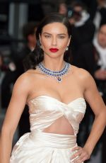 ADRIANA LIMA at Burning Premiere at 71st Annual Cannes Film Festival 05/16/2018