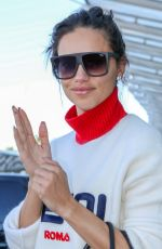 ADRIANA LIMA at Nice Airport 05/18/2018
