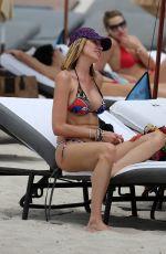 AIDA YESPICA in Bikini at a Beach in Miami 05/01/2018