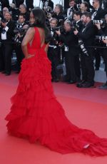 AJA NAOMI KING at Ash is Purest White Premiere at Cannes Film Festival 05/11/2018