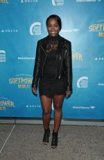AJA NAOMI KING at Soft Power Premiere in Los Angeles 05/16/2018