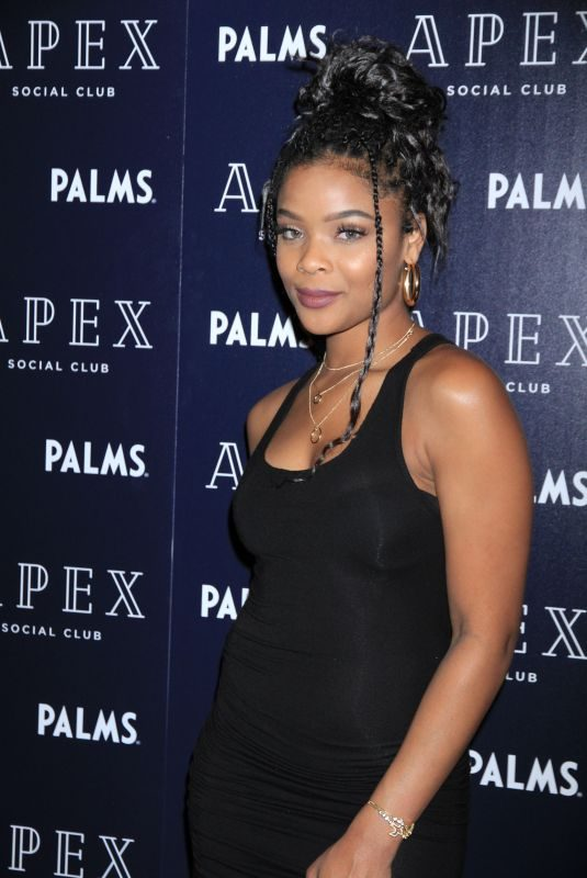 AJIONA ALEXUS at Apex Social Club Opening in Los Angeles 05/25/2018