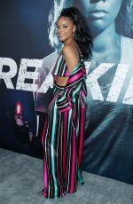 AJIONA ALEXUS at Breaking In Premiere in Los Angeles 05/01/2018