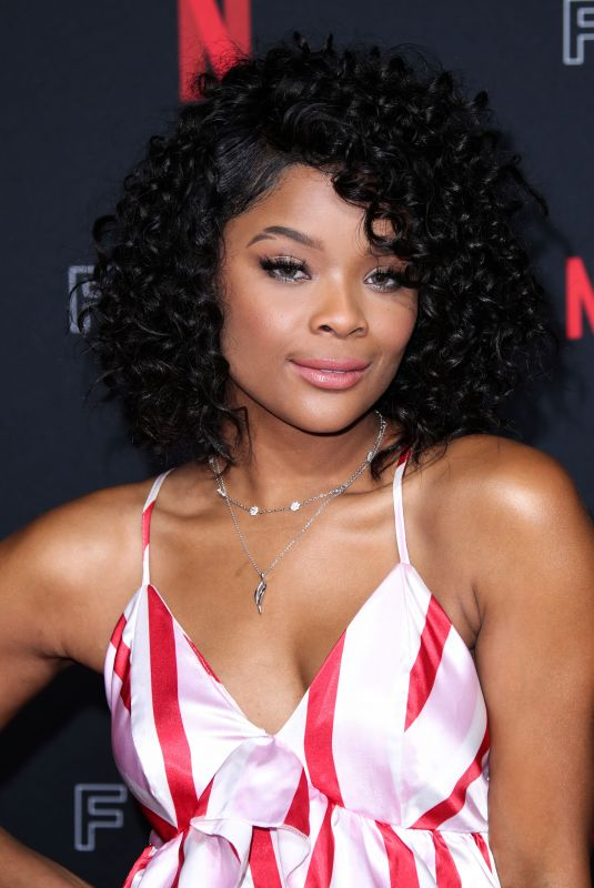 AJIONA ALEXUS at Netflix FYSee Kick-off Event in Los Angeles 05/06/2018