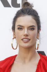 ALESSANDRA AMBROSIO at Autumn/Winter XTI Collection Launch in Madrid 05/10/2018