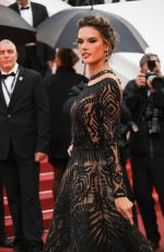 ALESSANDRA AMBROSIO at Blackkklansman Premiere at Cannes Film Festival 05/14/2018