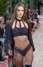 ALESSANDRA AMBROSIO at Philipp Plein Resort Runway Show in Cannes 05/16/2018