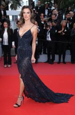 ALESSANDRA AMBROSIO at Solo: A Star Wars Story Premiere at Cannes Film Festival 05/15/2018