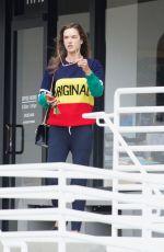ALESSANDRA AMBROSIO Heading to a Spa in Santa Monica 05/21/2018