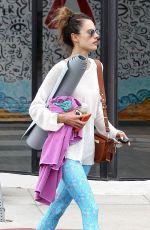 ALESSANDRA AMBROSIO Leaves a Yoga Class in Santa Monica 04/30/2018