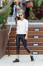 ALESSANDRA AMBROSIO Out and About in Malibu 05/20/2018